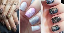 Nail art trends for winter 2014 for gel and painted designs