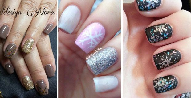 nail art trends for winter 2014 for gel and painted designs. Black Bedroom Furniture Sets. Home Design Ideas