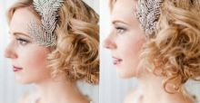 Bridal hairstyles for short hair: 2014 trends - Photo Gallery