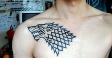 Game of Thrones tattoos for men and women | Photo Gallery