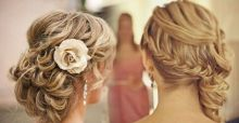Hairstyles and haircuts for a wedding: ideas and images for curly and straight hair