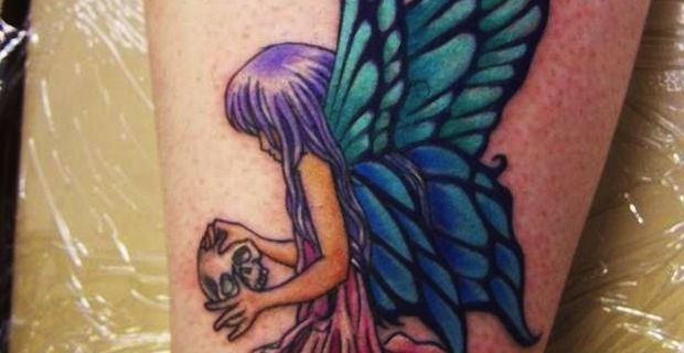 Fairies tattoos for women on excite uk for Sexy fairy tattoos