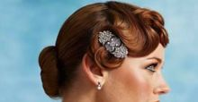 How to create the vintage '40s waves hairstyle