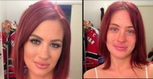 Adult movie stars bare it all... their flaws, without make-up