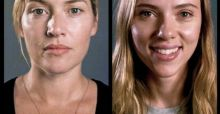 Scarlett Johansson and Kate Winslet sans makeup for Vanity Fair Hollywood issue