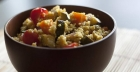 Going vegan: mild roasted vegetables couscous