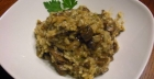 Mushroom risotto: an easy vegan recipe