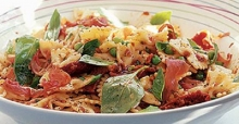The best pasta salad recipe with sunny Mediterranean flavours