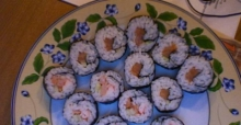 Vegetarian sushi recipe for beginners
