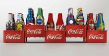 Coca Cola  World Cup 2014 special edition interactive mini bottles