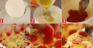 How to make pizza in a cup