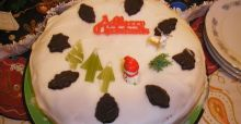 Last minute Christmas cake? Not a problem