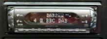 Stay in tune with a DAB  car radio