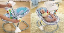 Fisher-Price's iPad bouncy chair raises controversy