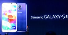 Samsung Galaxy S5 launched at the Mobile World Congress