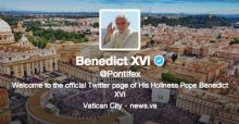 The Pope sends his first tweet - Video