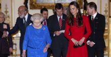 Queen and Duchess host stars of film and stage Photo Gallery