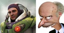Cartoon characters if they were human
