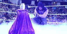 Undertaker best images after his defeat at Wrestlemania
