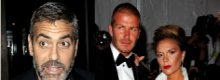Clooney and the Beckhams : New Best Friends