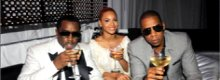 Jay Z, Beyonce and P Diddy : scrapping in Cannes