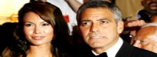 Sly old dog : Clooney was cheating
