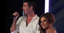 Cheryl's abusive text to Cowell