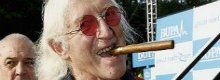 Sir Jimmy Savile 'lies in state'