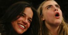 Michelle Rodriguez opens up on her relationship with Cara Delevingne