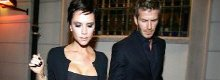 Posh and Becks tighten their YSL belts