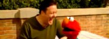 Hilarious Ricky Gervais and Elmo video