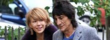 Ronnie Woodn't but his ex-girlfriend did