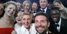 Oscars 2014: Ellen's breaks record with Selfie as U2 get photobombed
