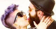 Kelly Osbourne is very happy with her new boyfriend Ricki Hall