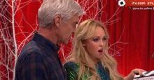 Hollyoaks Jorgie Porter says she wasn't drunk on late night ITV show Text Santa