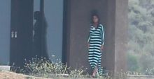Bruce Jenner snapped wearing a woman's dress by paparazzo