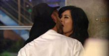 Jasmine Lennard and Cristian MJC snog in Big Brother house