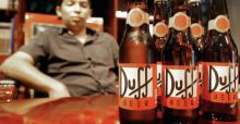 The Simpsons are about to launch real Duff beer in UK market in 2016