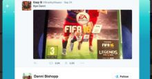 Best Response from girlfriend to boyfriend who jokes about leaving her for FIFA 16