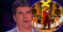 Simon Cowell accused of sabotaging X-Factor contestant because of accidental black eye from last week