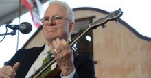 Steve Martin becomes a father at 67