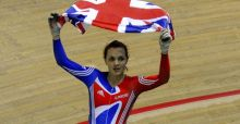 Pendleton flies Team GB flag on Strictly Come Dancing