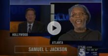 Samuel L. Jackson rips into KTLA reporter after he confuses him with Laurence Fishburne - Video