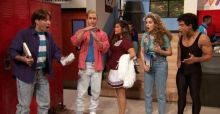 Jimmy Fallon stars in Saved By The Bell 2015 reunion at Bayside High VIDEO