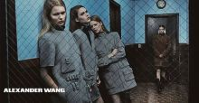 Alexander Wang collection for autumn 2014