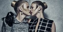 Kate Moss and Lara Stone for Balenciaga | campaign