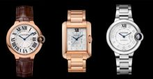 New Cartier watches for 2014 and 2015 for men and women