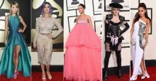 Best dressed celebrities at the 2015 Grammy Awards: Maddona, Rihanna y Taylor Swift