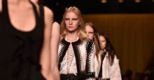 Givenchy collection for spring summer 2015 at Paris Fashion Week