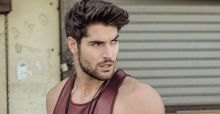 Model Nick Bateman, one of the most handsome men in the world